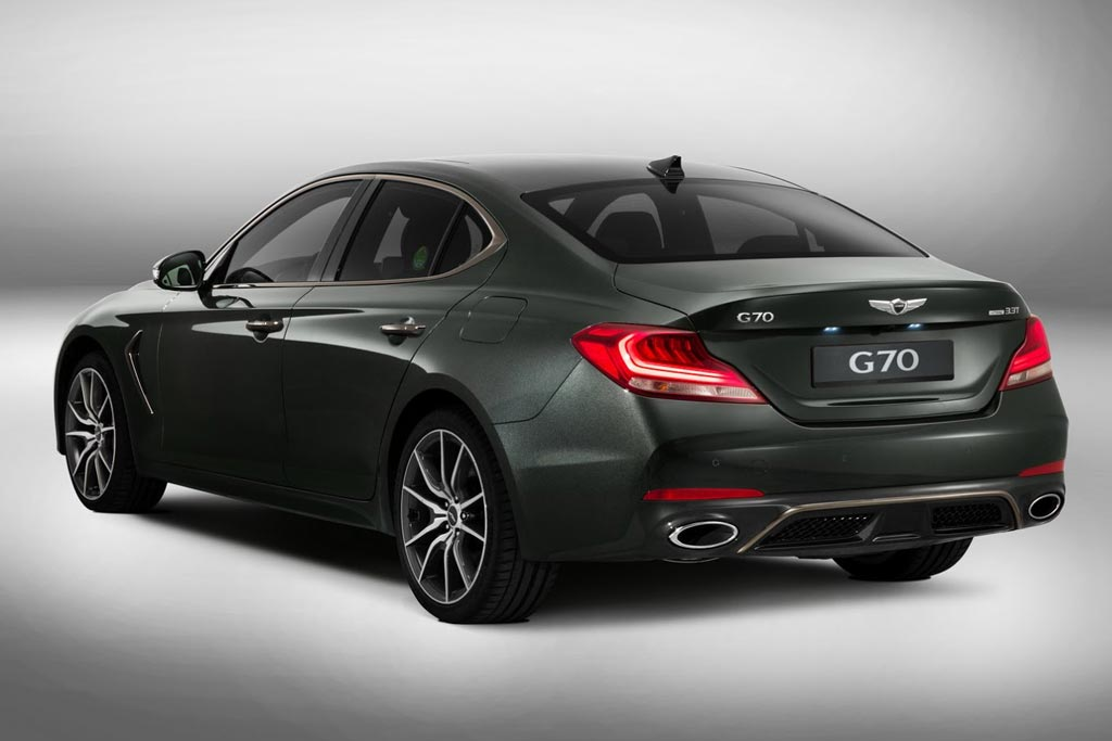 Генезис Г70 в новом кузове