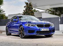 Фото новой BMW M5 2017-2018 года