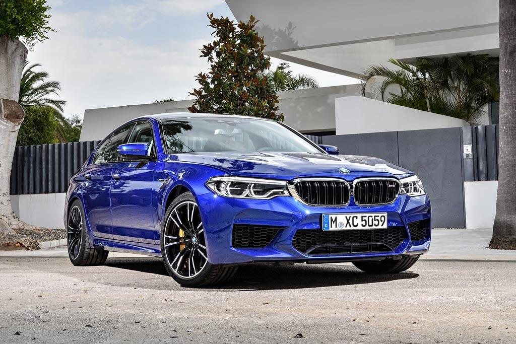 BMW M5 в новом кузове F90