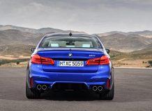 Новая модель BMW M5 2018 фото