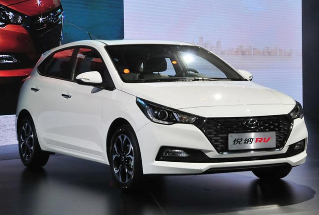 Новый Hyundai Verna 2 хэтчбек