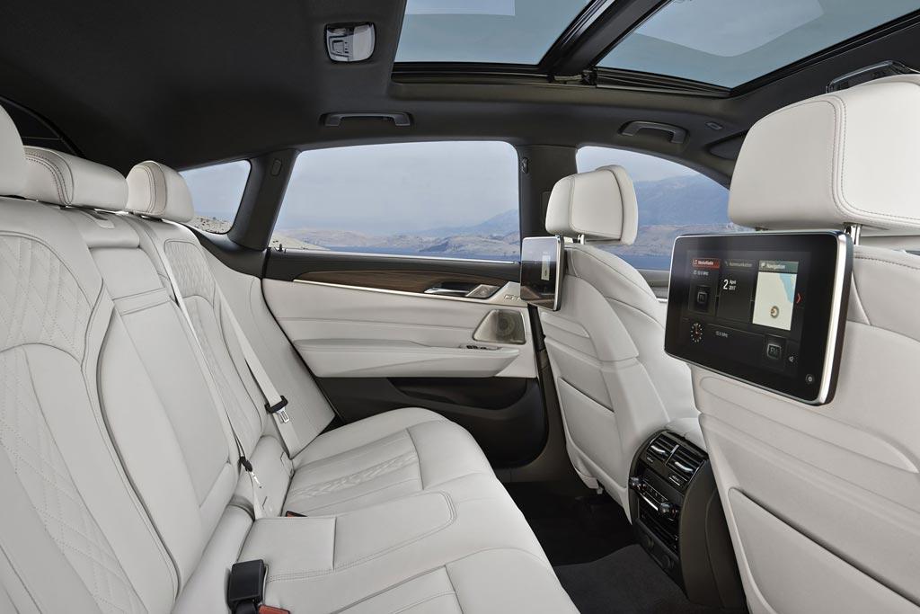 Интерьер BMW 6er Gran Turismo