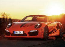 Фото тюнинг Порше 911 Турбо S кабриолет от Wimmer