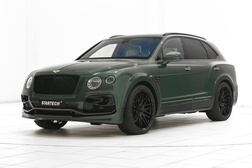 Bentley Bentayga в обвесе от Startech