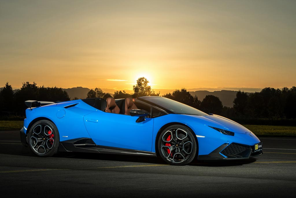 Lamborghini Huracan Spyder от O.CT Tuning
