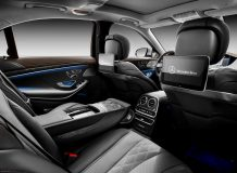 Интерьер Mercedes-Benz S-Class V222