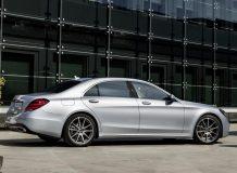 Новый Mercedes S в кузове 222 фото