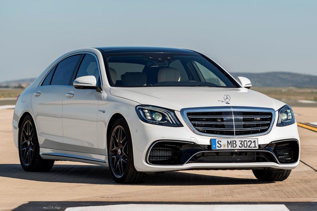 Обновленный Mercedes-AMG S63 2018