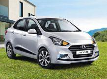 Фото нового Hyundai Xcent