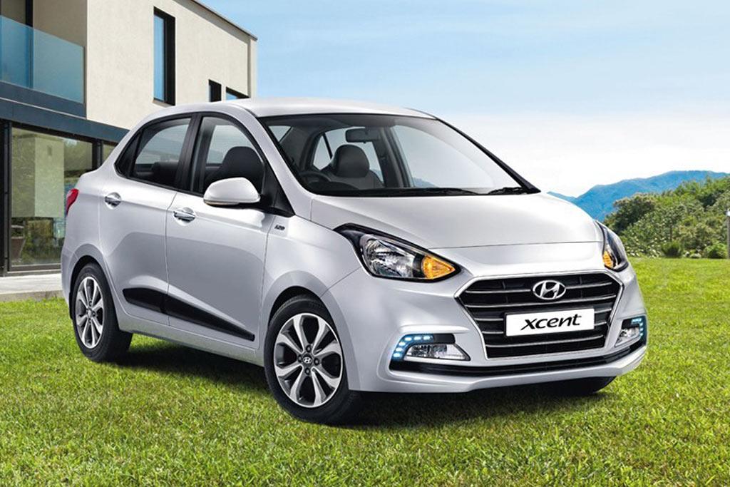 Бюджетный седан Hyundai Xcent