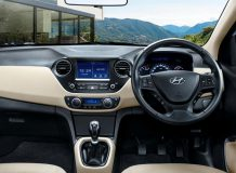 Фото салона Hyundai Xcent
