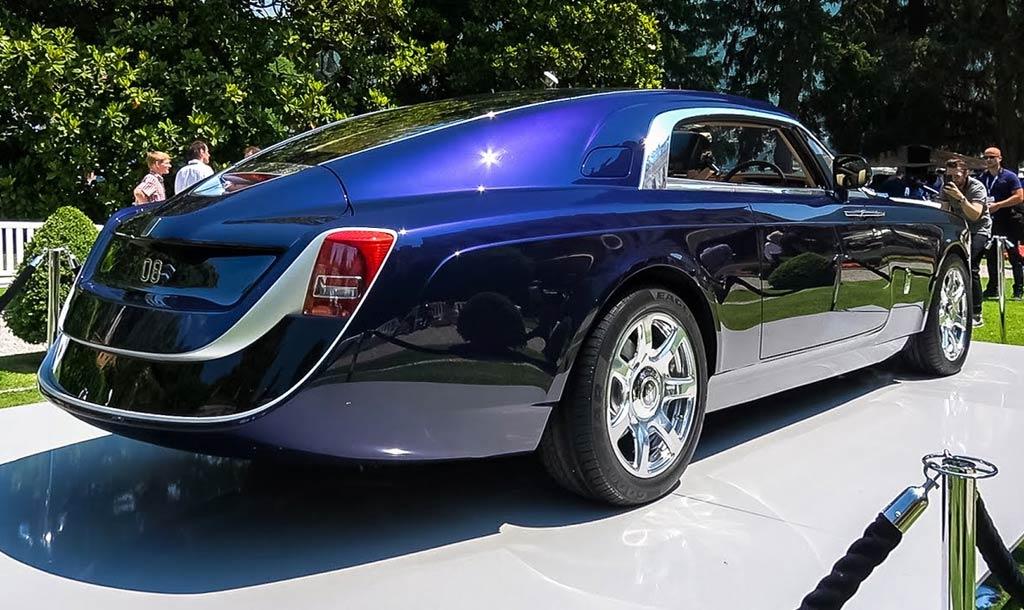 Эксклюзивный Rolls-Royce Sweptail