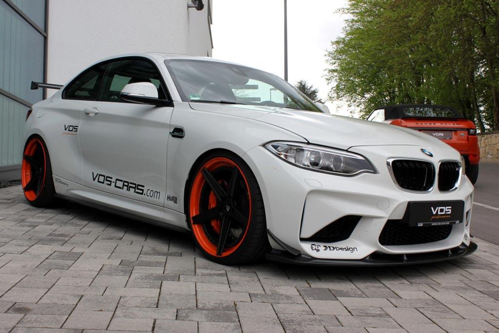 BMW M2 в обвесе от VOS Performance