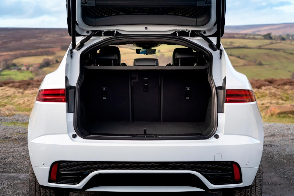 Багажник Jaguar E-Pace