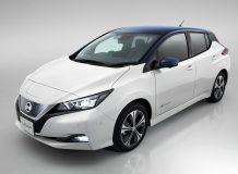 Автомобиль Nissan Leaf в новом кузове