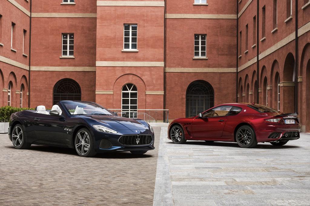 Обновленные Maserati GranTurismo и GranCabrio
