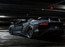 Обвес на Lamborghini Aventador SV Roadster от Novitec фото