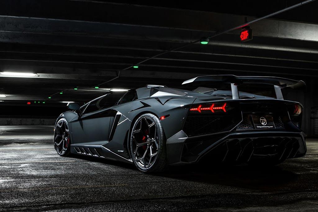 Lamborghini Aventador SV Roadster от Novitec Torado
