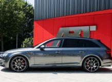 Диски и обвес на Audi S4 Avant от ABT фото
