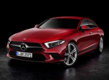 Новая модель Mercedes CLS 2018 фото