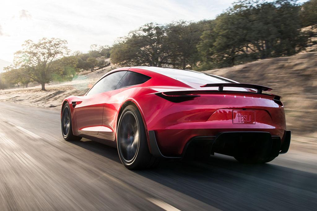 Тесла Родстер 2022 в новом кузове