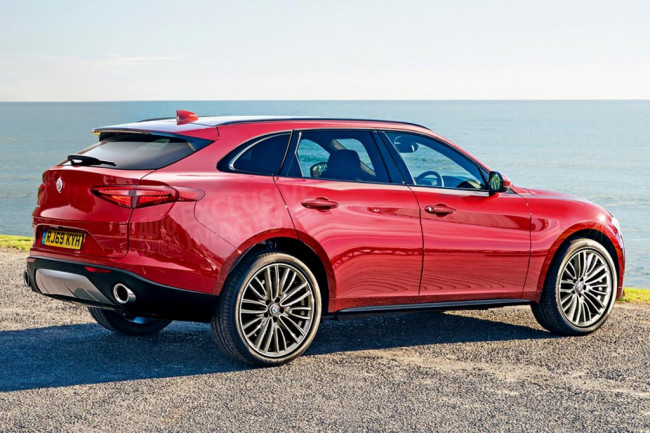 Грядущий кроссовер Alfa Romeo