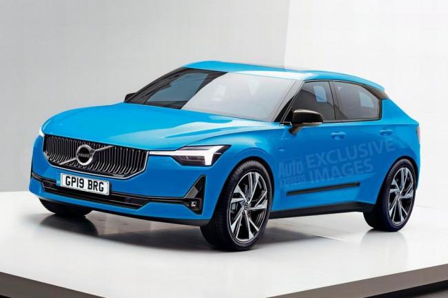 Новый Volvo V40 2019 года