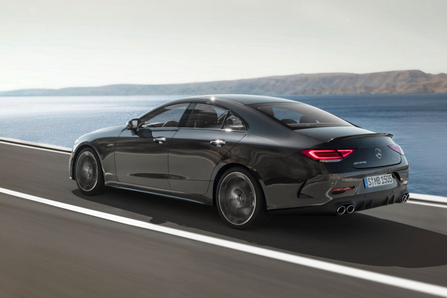 Новый Mercedes CLS 53 AMG