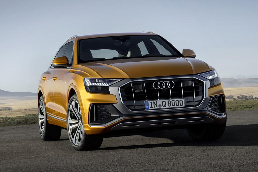 Новый Audi Q8 2021