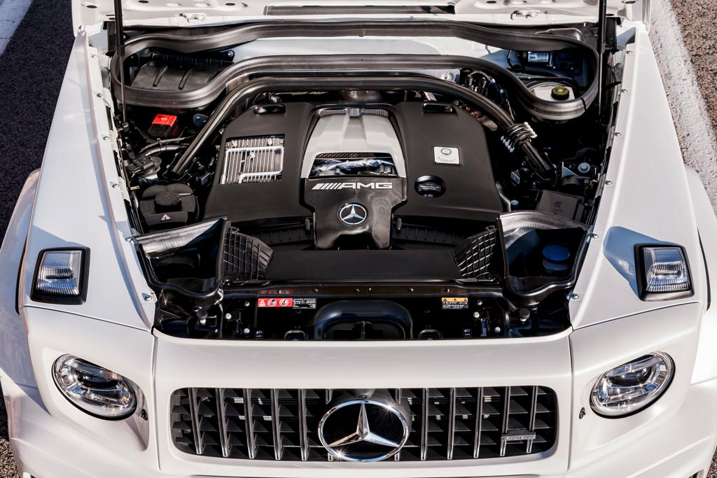 Двигатель G63