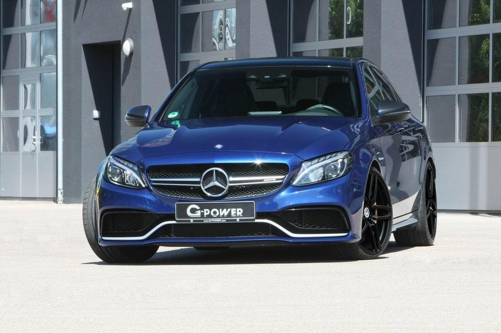 В ателье G-Power добавили мощности Mercedes-AMG C63 S