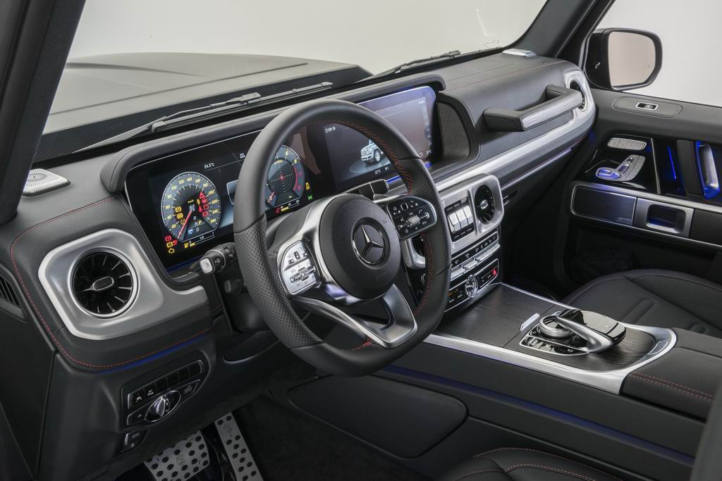 Новый Mercedes G500 от Brabus: 500 лошадей и 5,7 сек. до сотни