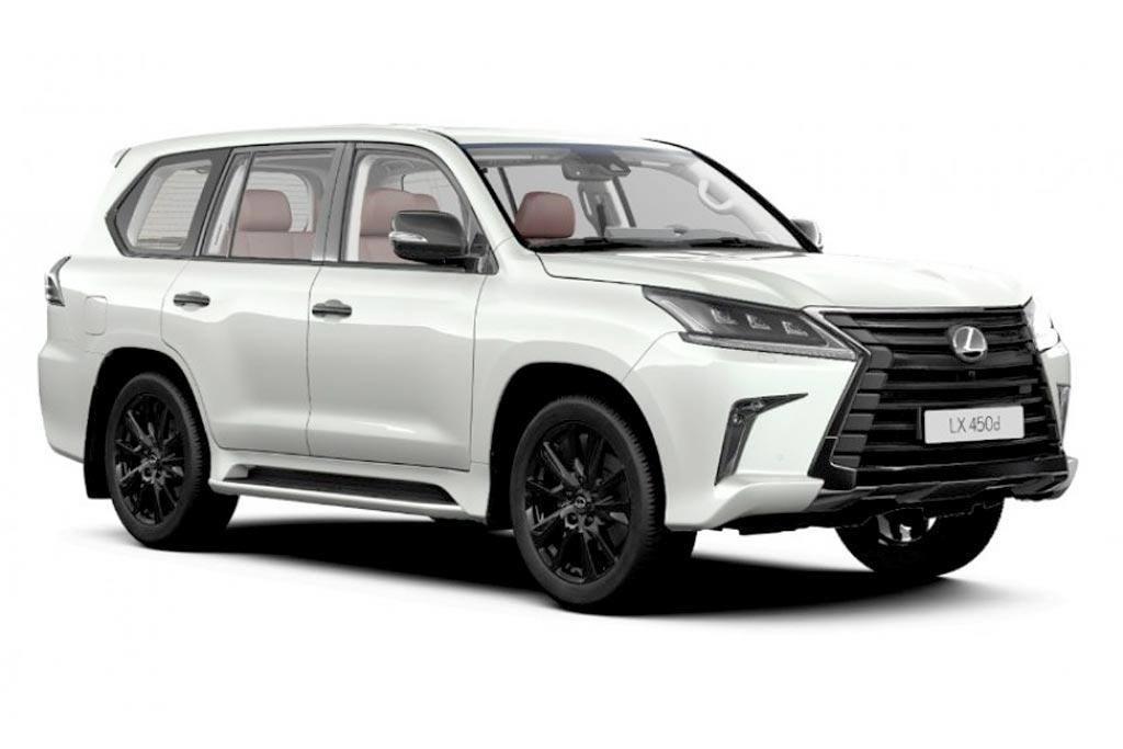 Lexus LX Black Vision: новая спецверсия внедорожника