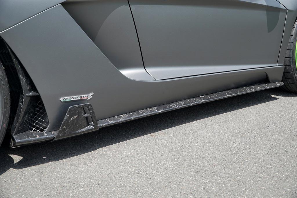 Специалисты Mansory принарядили купе Lamborghini Aventador S