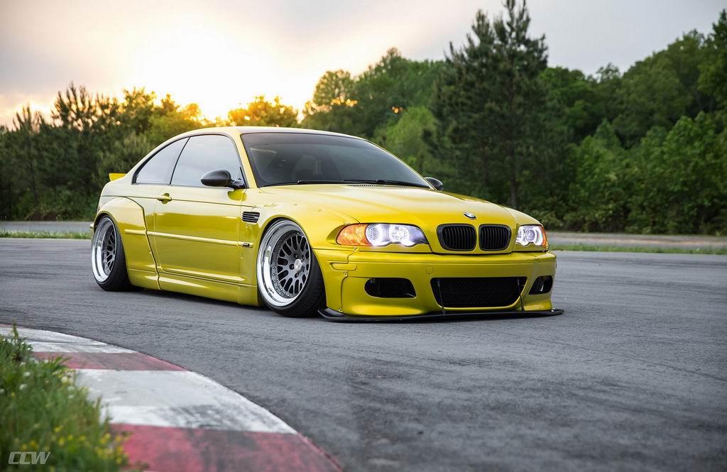 BMW M3 Phoenix Yellow