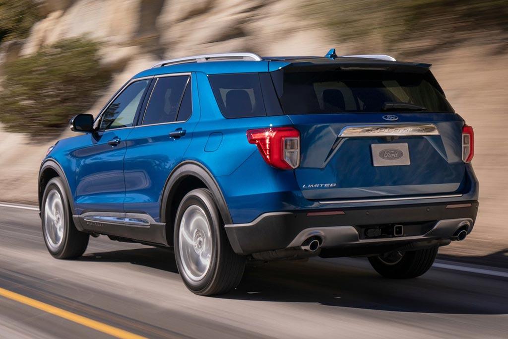 Новый Форд Эксплорер 2021 года