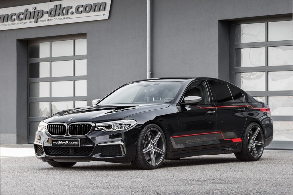 BMW M550d xDrive от McChip-DKR