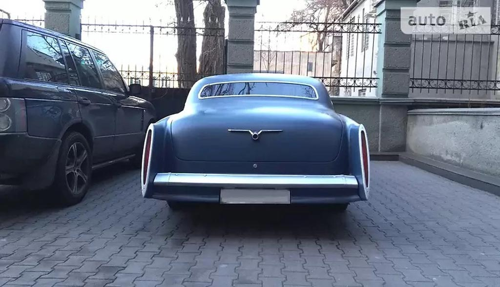 Кастом ГАЗ-21 на раме Buick