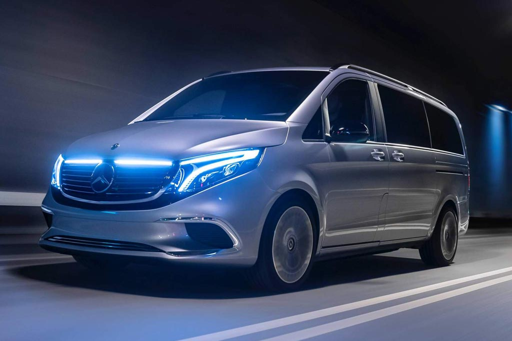 Mercedes Concept EQV