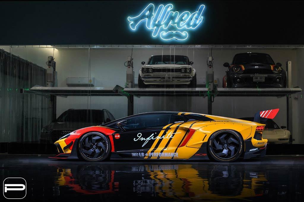 Aventador от Infiniti Motorsport