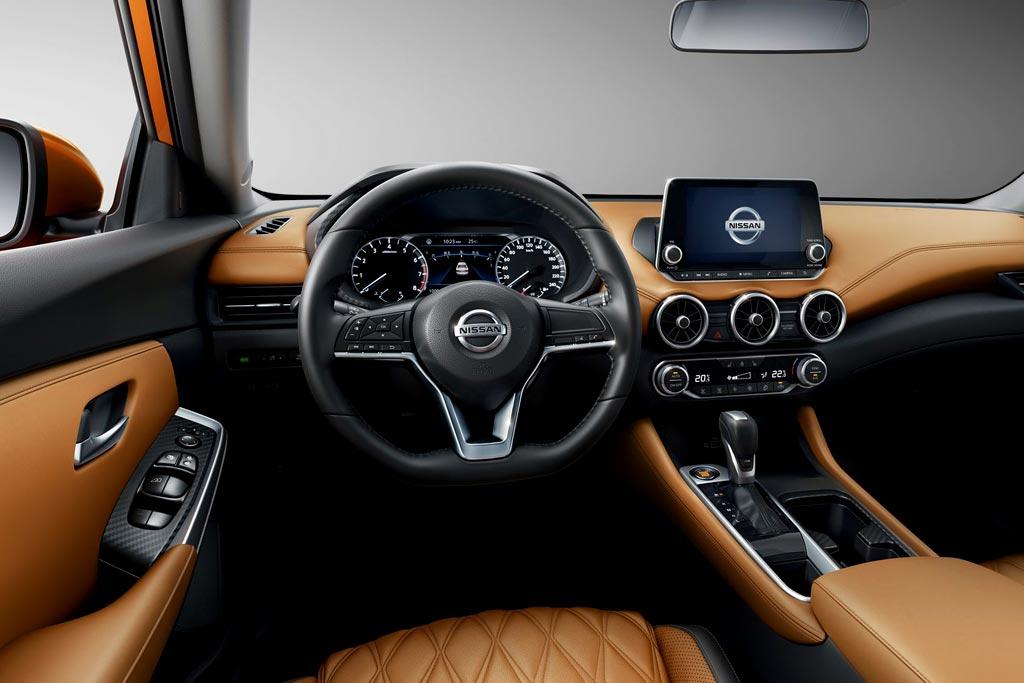 Салон Nissan Sylphy 4