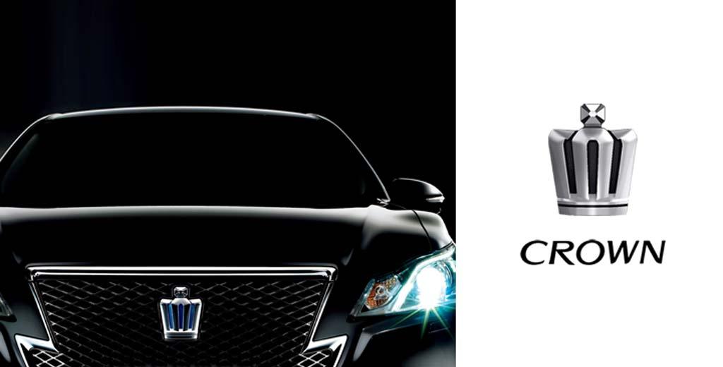 Логотип Toyota Crown