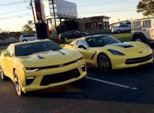 Camaro и Corvette