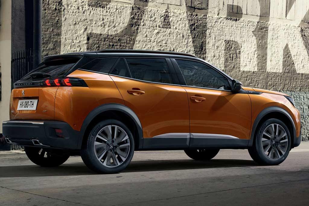 Peugeot 2008 2021 года