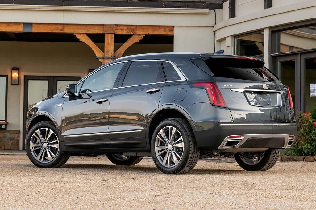 Новый кузов Cadillac XT5 2021