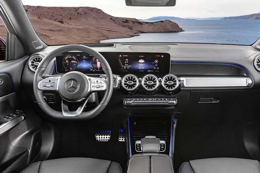 Салон Mercedes GLB