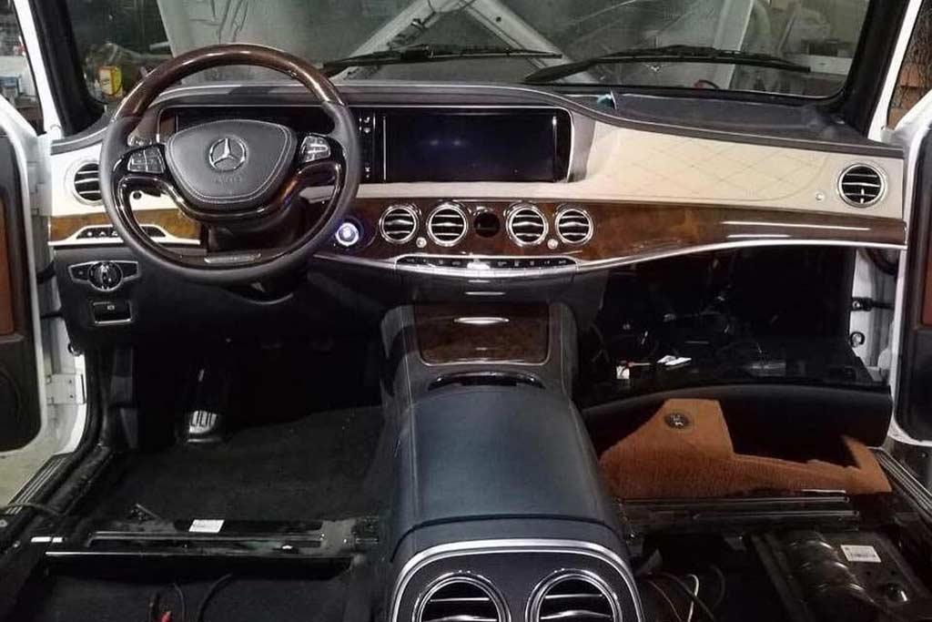 Нива с салоном от S-Class W222