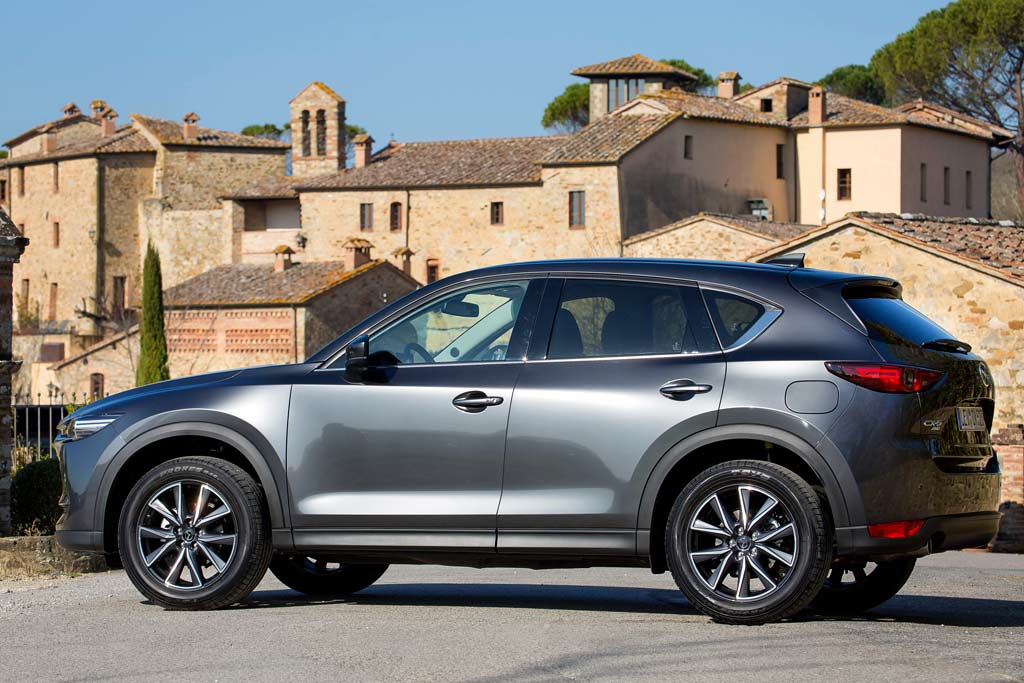 Новый кузов Mazda CX-5 2021
