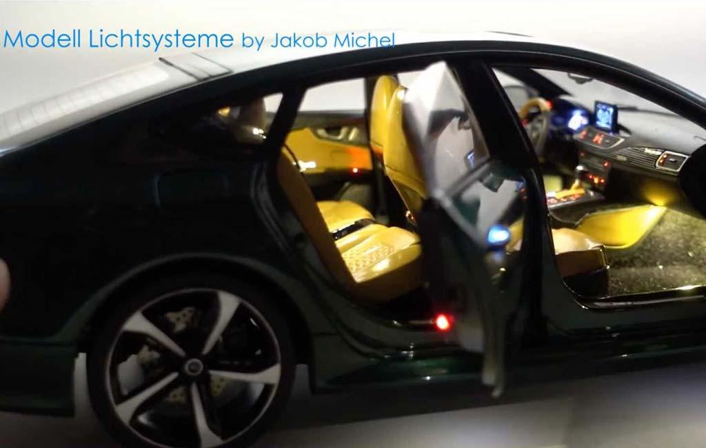 Модель Audi RS7