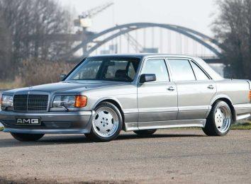 Mercedes 560 SEL 6.0 AMG